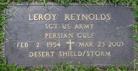 REYNOLDS (VETERAN PG-DS/S), LEROY - Alcorn County, Mississippi   LEROY REYNOLDS (VETERAN PG-DS/S) - Mississippi Gravestone Photos