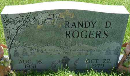ROGERS, RANDY D - Alcorn County, Mississippi   RANDY D ROGERS - Mississippi Gravestone Photos