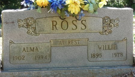 ROSS, WILLIE S - Alcorn County, Mississippi | WILLIE S ROSS - Mississippi Gravestone Photos
