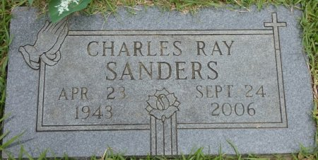 SANDERS, CHARLES RAY - Alcorn County, Mississippi | CHARLES RAY SANDERS - Mississippi Gravestone Photos