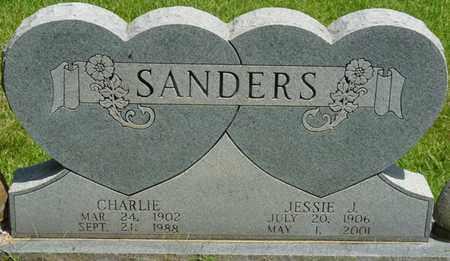 SANDERS, CHARLIE - Alcorn County, Mississippi | CHARLIE SANDERS - Mississippi Gravestone Photos