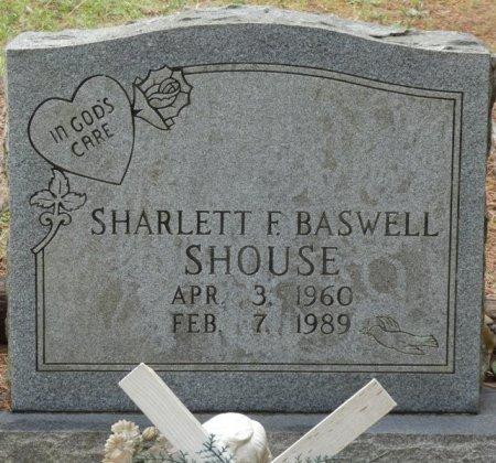 BASWELL SHOUSE, SHARLETT F - Alcorn County, Mississippi | SHARLETT F BASWELL SHOUSE - Mississippi Gravestone Photos