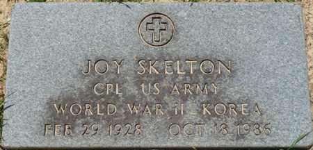 SKELTON (VETERAN WWII-KOR), JOY - Alcorn County, Mississippi   JOY SKELTON (VETERAN WWII-KOR) - Mississippi Gravestone Photos
