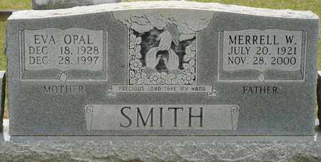 SMITH, EVA OPAL - Alcorn County, Mississippi | EVA OPAL SMITH - Mississippi Gravestone Photos