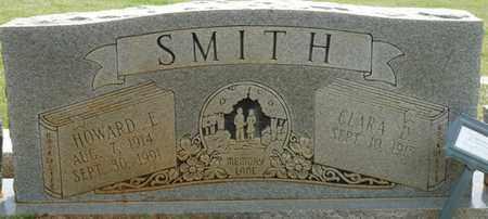 SMITH, HOWARD E - Alcorn County, Mississippi | HOWARD E SMITH - Mississippi Gravestone Photos