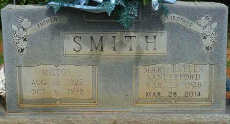 SMITH, MILTON - Alcorn County, Mississippi | MILTON SMITH - Mississippi Gravestone Photos