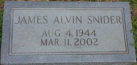 SNIDER, JAMES ALVIN - Alcorn County, Mississippi | JAMES ALVIN SNIDER - Mississippi Gravestone Photos