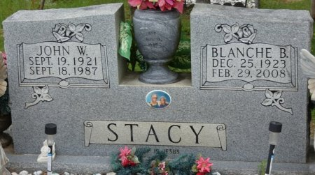 STACY, BLANCHE B - Alcorn County, Mississippi | BLANCHE B STACY - Mississippi Gravestone Photos