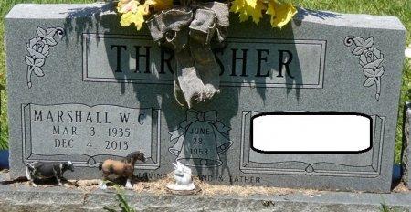 THRASHER, MARSHALL W.C. - Alcorn County, Mississippi | MARSHALL W.C. THRASHER - Mississippi Gravestone Photos
