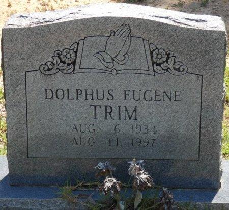 TRIM, DOLPHUS EUGENE - Alcorn County, Mississippi | DOLPHUS EUGENE TRIM - Mississippi Gravestone Photos