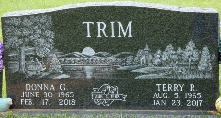 TRIM, TERRY ROYCE - Alcorn County, Mississippi | TERRY ROYCE TRIM - Mississippi Gravestone Photos