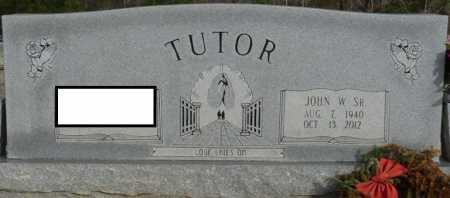 TUTOR SR., JOHN W - Alcorn County, Mississippi   JOHN W TUTOR SR. - Mississippi Gravestone Photos