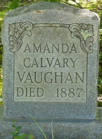 VAUGHAN, AMANDA CALVARY - Alcorn County, Mississippi | AMANDA CALVARY VAUGHAN - Mississippi Gravestone Photos