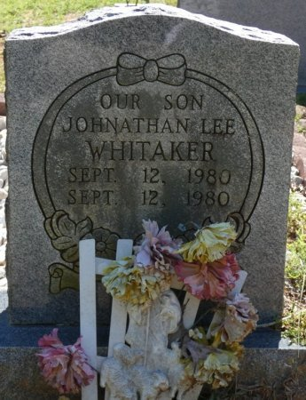 WHITAKER, JOHNATHAN LEE - Alcorn County, Mississippi | JOHNATHAN LEE WHITAKER - Mississippi Gravestone Photos