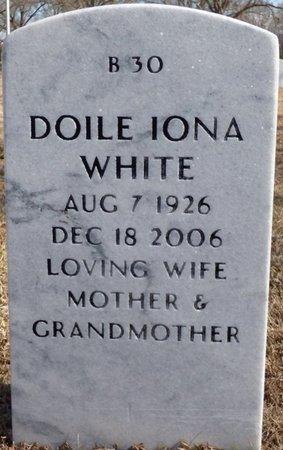 WHITE, DOILE IONA - Alcorn County, Mississippi   DOILE IONA WHITE - Mississippi Gravestone Photos