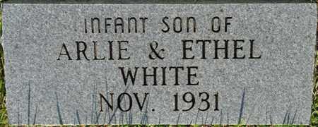 WHITE, INFANT SON - Alcorn County, Mississippi | INFANT SON WHITE - Mississippi Gravestone Photos