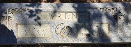WREN, TINY RUTH - Alcorn County, Mississippi | TINY RUTH WREN - Mississippi Gravestone Photos
