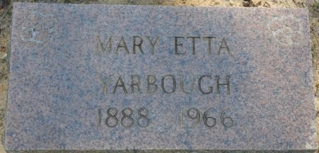 YARBOUGH, MARY ETTA - Alcorn County, Mississippi | MARY ETTA YARBOUGH - Mississippi Gravestone Photos