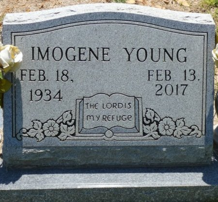 ESSARY YOUNG, IMOGENE - Alcorn County, Mississippi | IMOGENE ESSARY YOUNG - Mississippi Gravestone Photos
