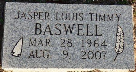 BASWELL, JASPER LOUIS TIMMY - Alcorn County, Mississippi | JASPER LOUIS TIMMY BASWELL - Mississippi Gravestone Photos