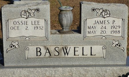 BASWELL, OSSIE LEE - Alcorn County, Mississippi | OSSIE LEE BASWELL - Mississippi Gravestone Photos