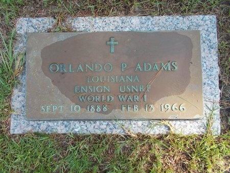 ADAMS (VETERAN WWI), ORLANDO P (NEW) - Hancock County, Mississippi | ORLANDO P (NEW) ADAMS (VETERAN WWI) - Mississippi Gravestone Photos