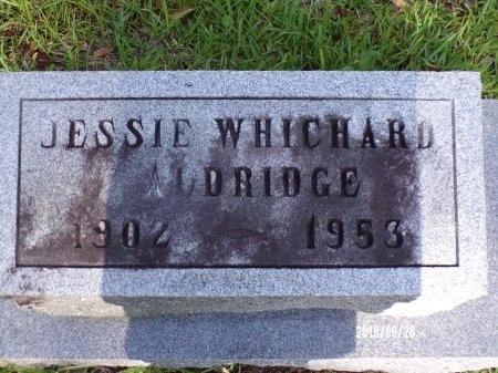 ALDRIDGE, JESSIE - Hancock County, Mississippi | JESSIE ALDRIDGE - Mississippi Gravestone Photos