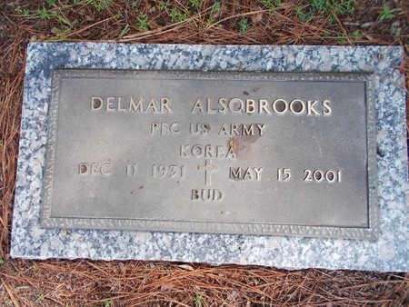 ALSOBROOKS (VETERAN KOR), DELMAR (NEW) - Hancock County, Mississippi | DELMAR (NEW) ALSOBROOKS (VETERAN KOR) - Mississippi Gravestone Photos