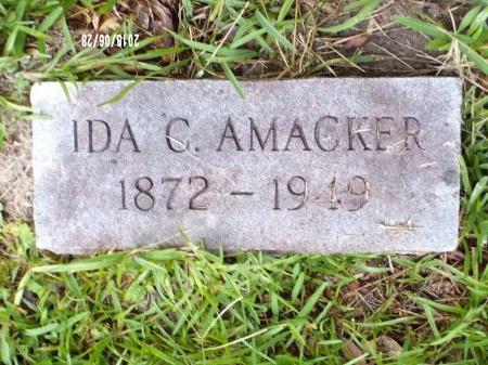 COWART AMACKER, IDA - Hancock County, Mississippi   IDA COWART AMACKER - Mississippi Gravestone Photos