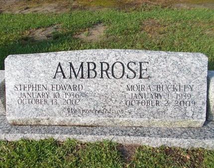 BUCKLEY AMBROSE, MOIRA - Hancock County, Mississippi | MOIRA BUCKLEY AMBROSE - Mississippi Gravestone Photos