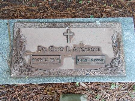 ANCARONI, GENO L., DR - Hancock County, Mississippi | GENO L., DR ANCARONI - Mississippi Gravestone Photos