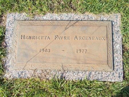 ARCENEAUX, HENRIETTA - Hancock County, Mississippi | HENRIETTA ARCENEAUX - Mississippi Gravestone Photos