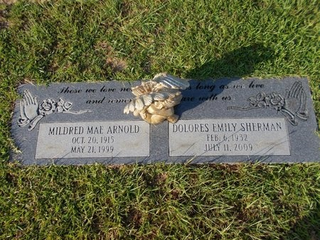 ARNOLD, MILDRED MAE - Hancock County, Mississippi | MILDRED MAE ARNOLD - Mississippi Gravestone Photos