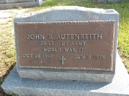 AUTENREITH (VETERAN WWII), JOHN R (NEW) - Hancock County, Mississippi | JOHN R (NEW) AUTENREITH (VETERAN WWII) - Mississippi Gravestone Photos