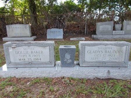 BAUDOIN, GLADYS - Hancock County, Mississippi | GLADYS BAUDOIN - Mississippi Gravestone Photos
