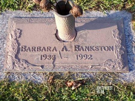 BANKSTON, BARBARA A - Hancock County, Mississippi   BARBARA A BANKSTON - Mississippi Gravestone Photos