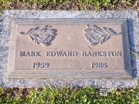 BANKSTON, MARK EDWARD - Hancock County, Mississippi | MARK EDWARD BANKSTON - Mississippi Gravestone Photos
