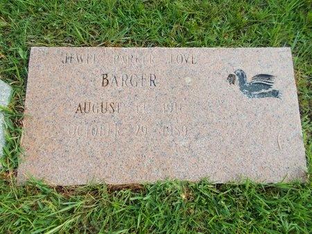 BARGER, JEWEL - Hancock County, Mississippi | JEWEL BARGER - Mississippi Gravestone Photos