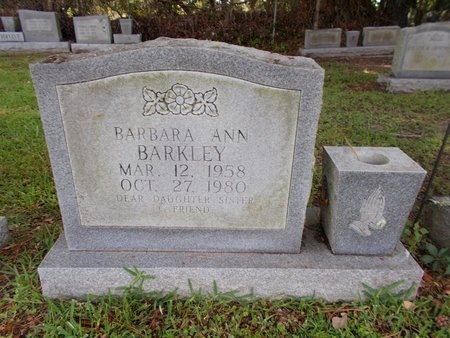 BARKLEY, BARBARA ANN - Hancock County, Mississippi | BARBARA ANN BARKLEY - Mississippi Gravestone Photos
