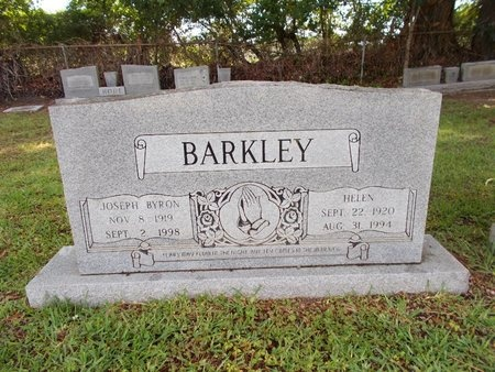 BARKLEY, HELEN - Hancock County, Mississippi | HELEN BARKLEY - Mississippi Gravestone Photos