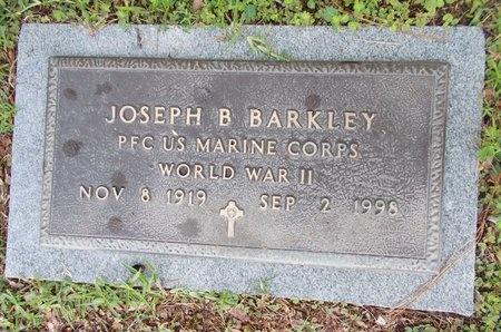 BARKLEY (VETERAN WWII), JOSEPH B (NEW) - Hancock County, Mississippi | JOSEPH B (NEW) BARKLEY (VETERAN WWII) - Mississippi Gravestone Photos