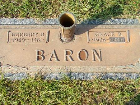 BARON, HERBERT B - Hancock County, Mississippi | HERBERT B BARON - Mississippi Gravestone Photos