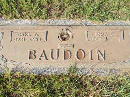 BAUDOIN, IRMA C - Hancock County, Mississippi | IRMA C BAUDOIN - Mississippi Gravestone Photos