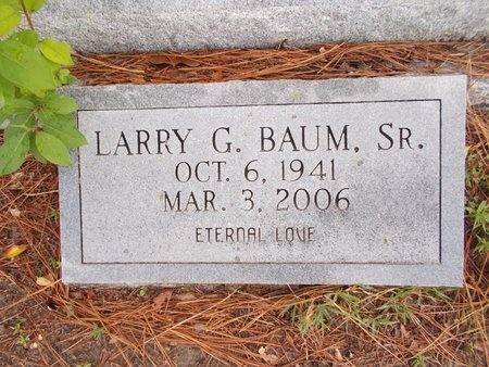 BAUM, LARRY G., SR - Hancock County, Mississippi | LARRY G., SR BAUM - Mississippi Gravestone Photos