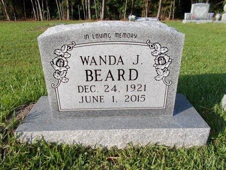BEARD, WANDA J - Hancock County, Mississippi | WANDA J BEARD - Mississippi Gravestone Photos