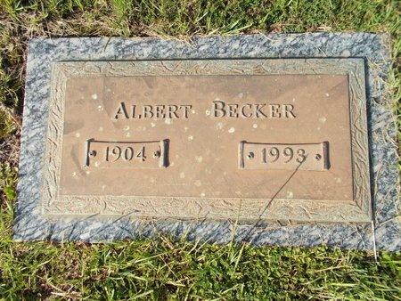 BECKER, ALBERT - Hancock County, Mississippi | ALBERT BECKER - Mississippi Gravestone Photos