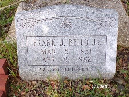 BELLO, FRANK J., JR - Hancock County, Mississippi | FRANK J., JR BELLO - Mississippi Gravestone Photos