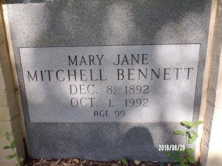 BENNETT, MARY JANE (CLOSE UP) - Hancock County, Mississippi | MARY JANE (CLOSE UP) BENNETT - Mississippi Gravestone Photos