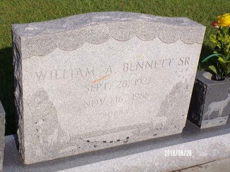 BENNETT, WILLIAM A., SR - Hancock County, Mississippi | WILLIAM A., SR BENNETT - Mississippi Gravestone Photos