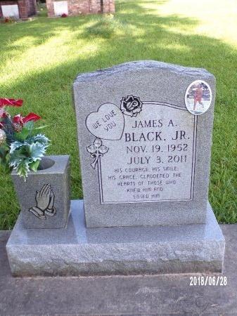 BLACK, JAMES ALTON, JR - Hancock County, Mississippi | JAMES ALTON, JR BLACK - Mississippi Gravestone Photos